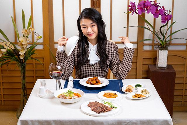 Korea Garden K-drama Menu Set