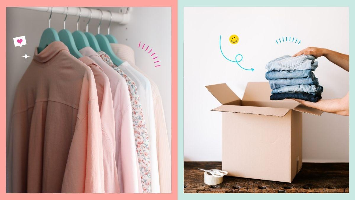 Easy closet decluttering tips