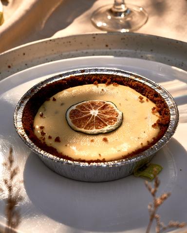 Lemonlime Manila's key lime pie