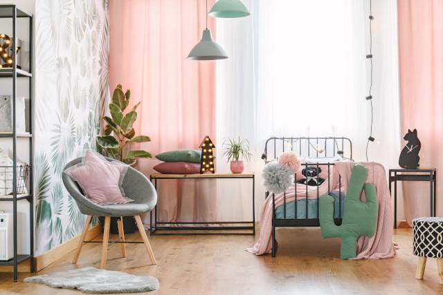 bedroom makeover: pick a color palette
