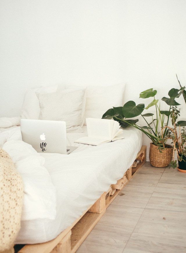 bedroom makeover: add plants