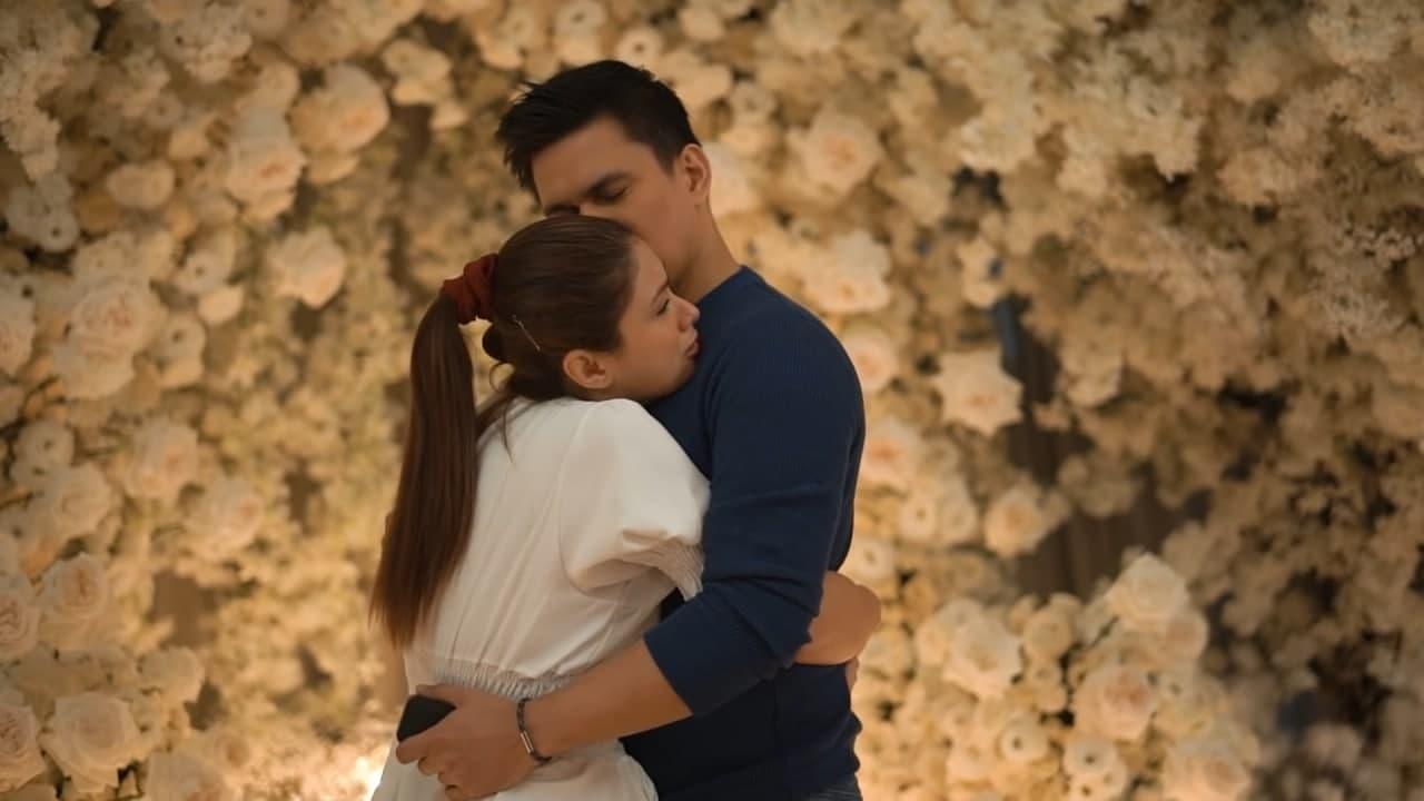 Tom and Carla share a hug