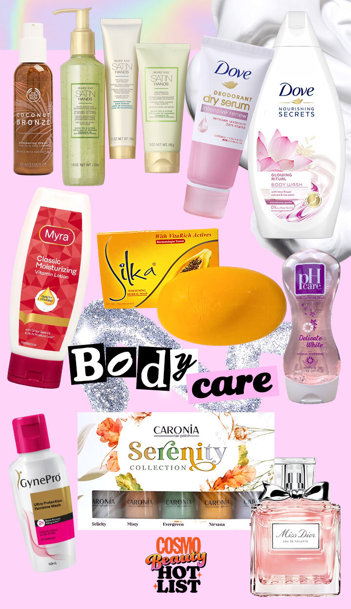 Best Beauty Products: Cosmo Beauty Hot List 2021 - Body Care