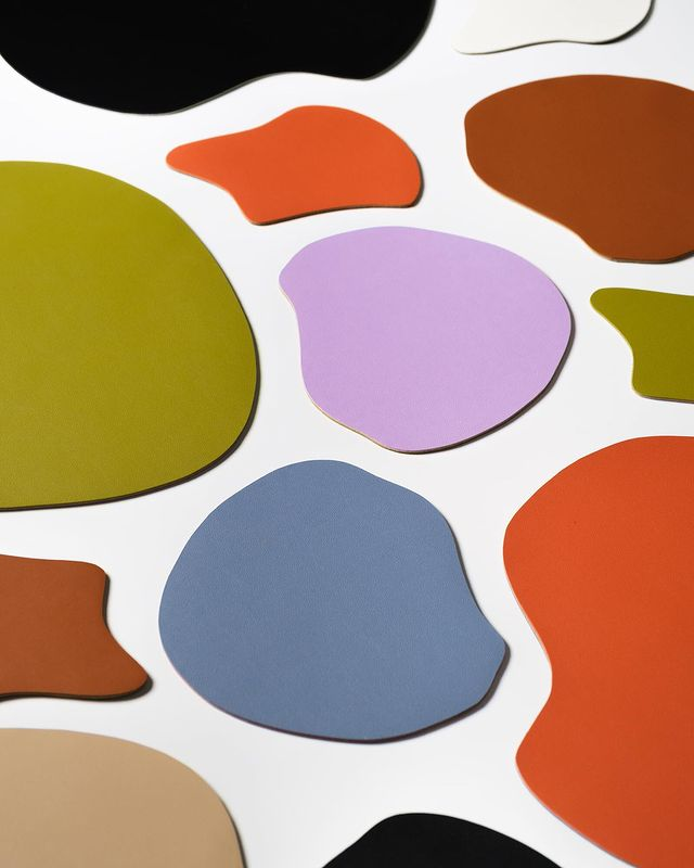 colorful multi-purpose catch all mats from GVN the label