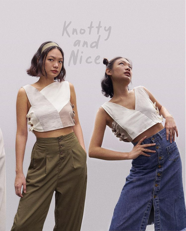 Nin and Yang clothing business: knotty and nice design