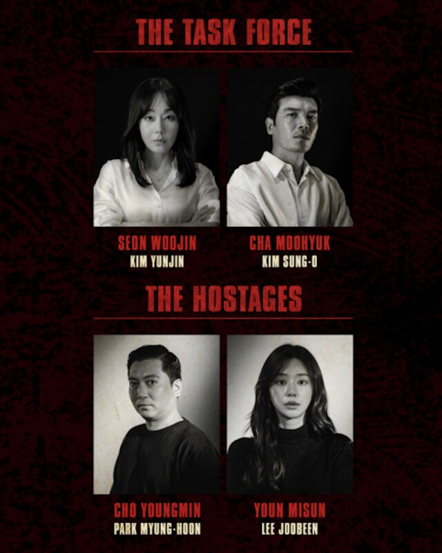 korean money heist full cast