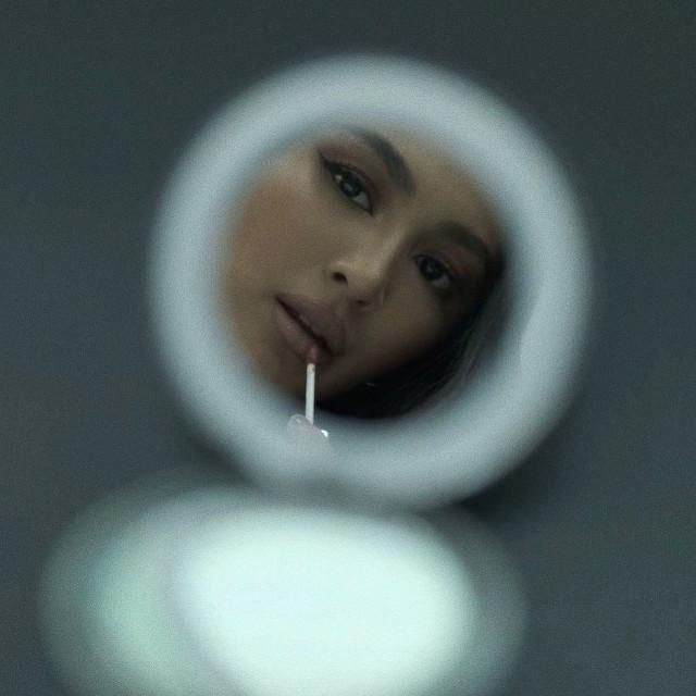 small mirror selfie: Nadine Lustre