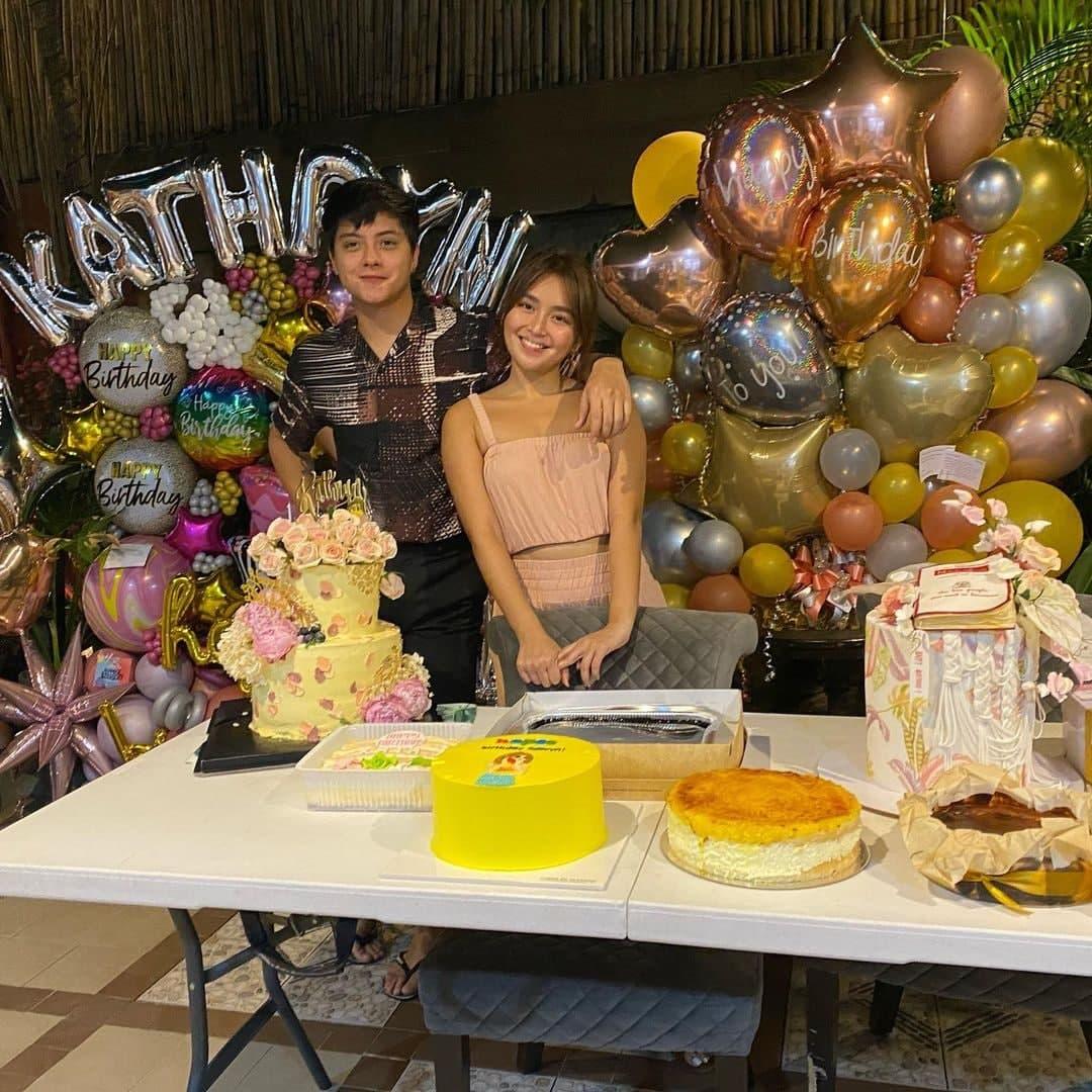 DJ with Kathryn on her birthday celebration