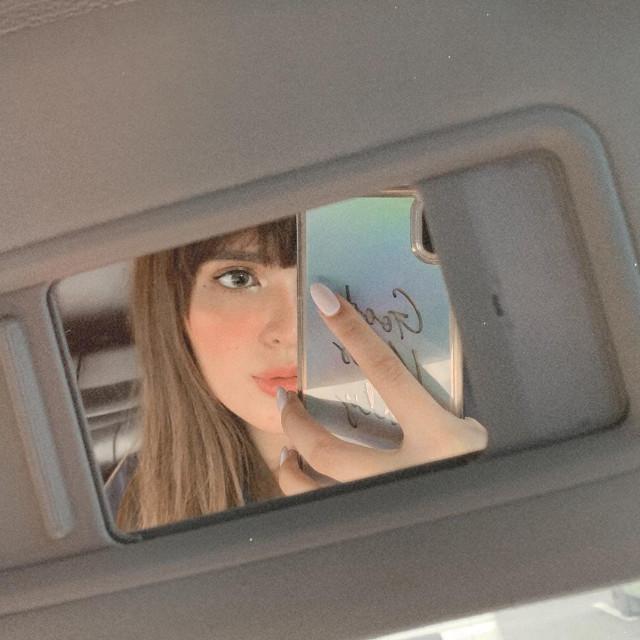 small mirror selfie: Sofia Andres