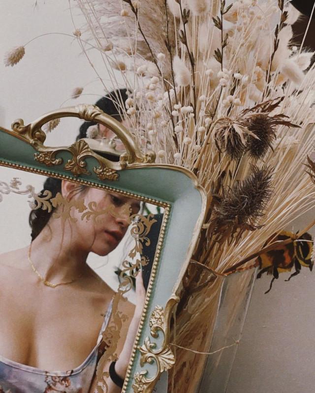 small mirror selfie: Sue Ramirez