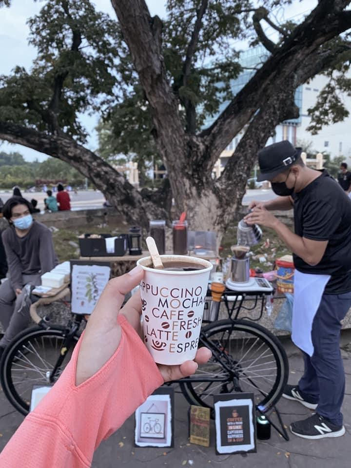 Customers love The Bike Coffee CDO