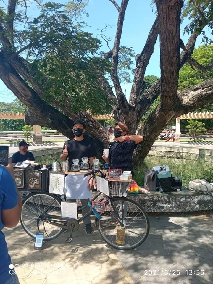 The Bike Coffee CDO in Rodelsa Circle