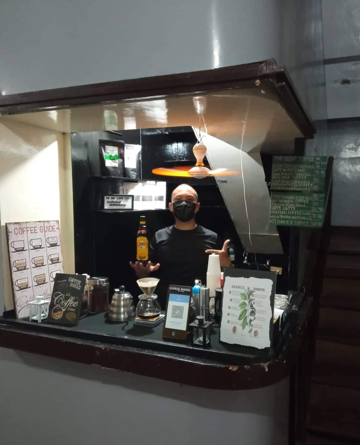 The Bike Coffee CDO's first physical stall