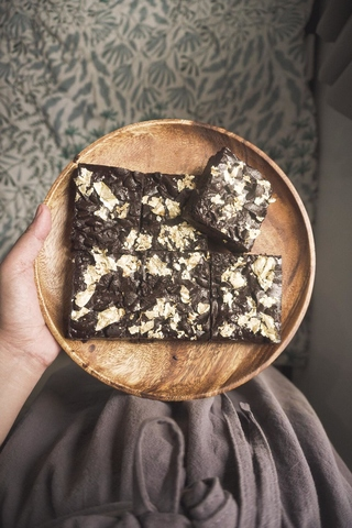 Yanka's dark chocolate brownies
