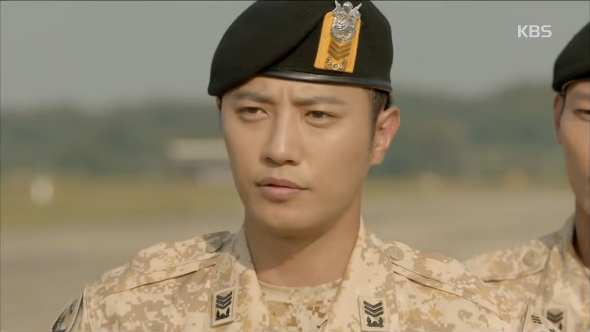 Jin Goo in Descendants Of The Sun