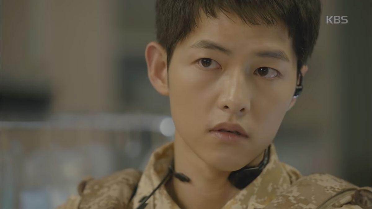 Song Joong Ki in Descendants Of The Sun