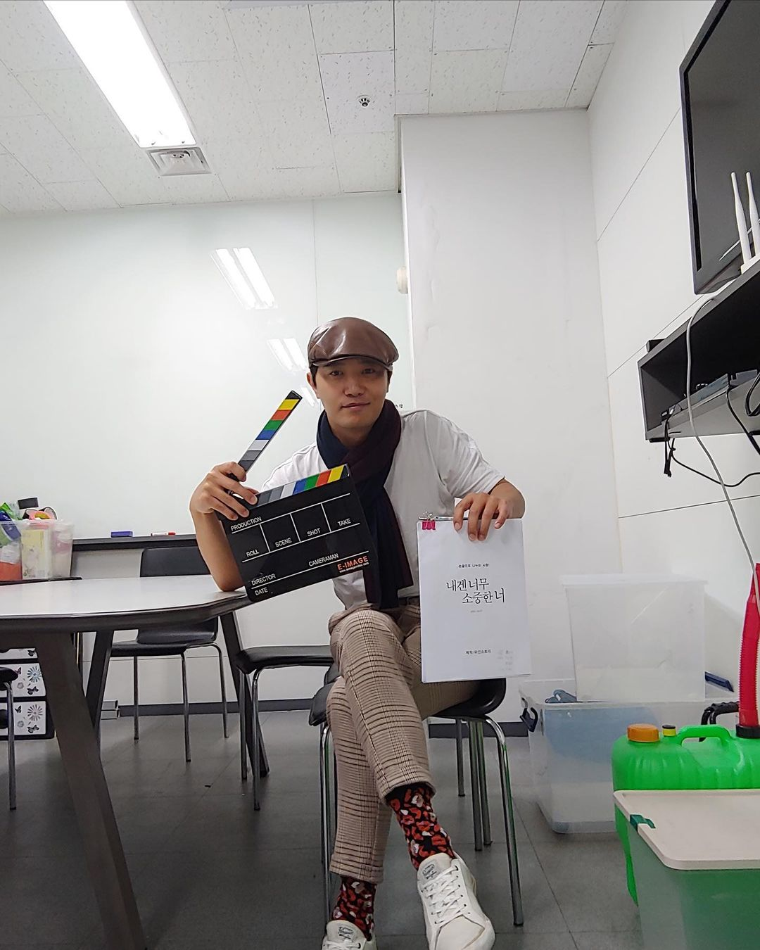 Jin Goo's new projects