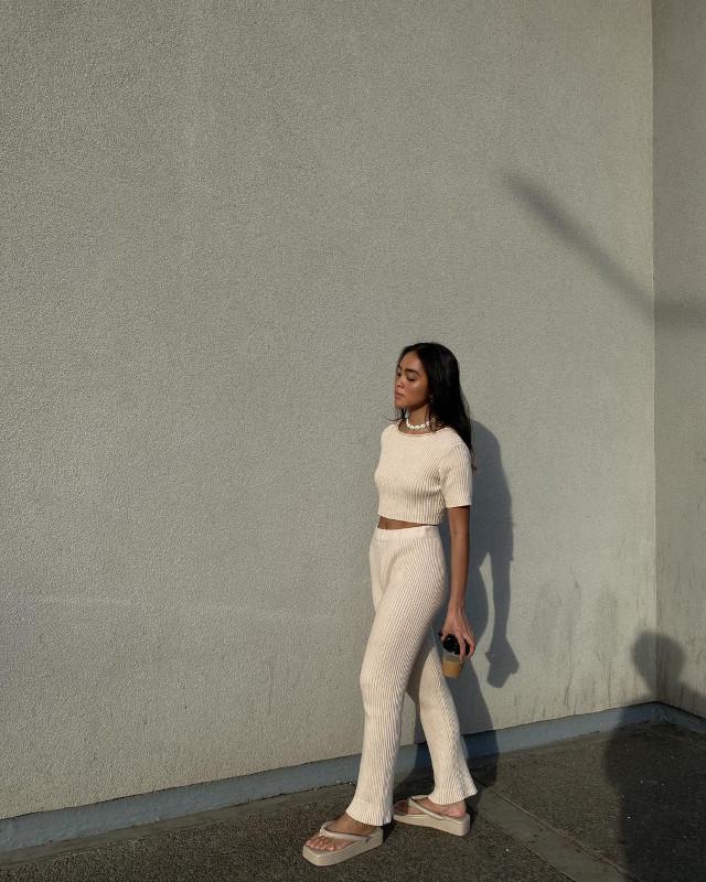 Ida Anduyan white outfit idea 3
