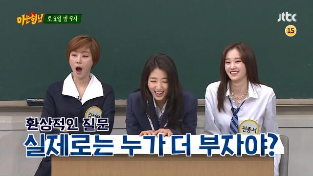 jeon jong seo reality show