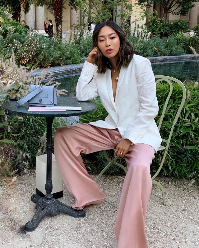 Pink Outfit Idea: Aimee Song