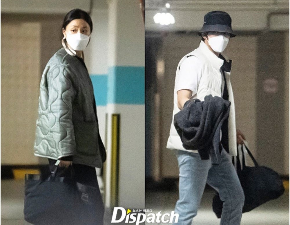 Dispatch reveals Seo Ji Hye and Kim Jung Hyun's relationship