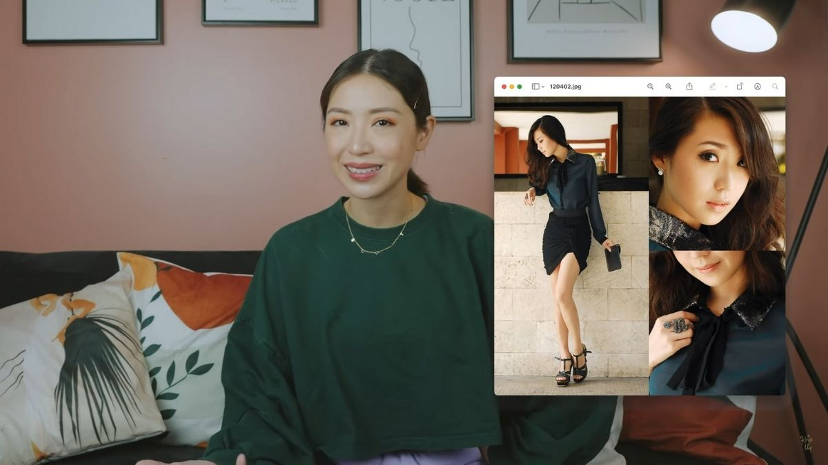 Kryz Uy talks about how she used to Photoshop her photos