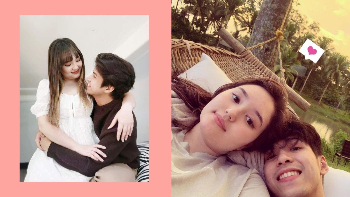 The cutest couple photos of Nash Aguas and Mika Dela Cruz