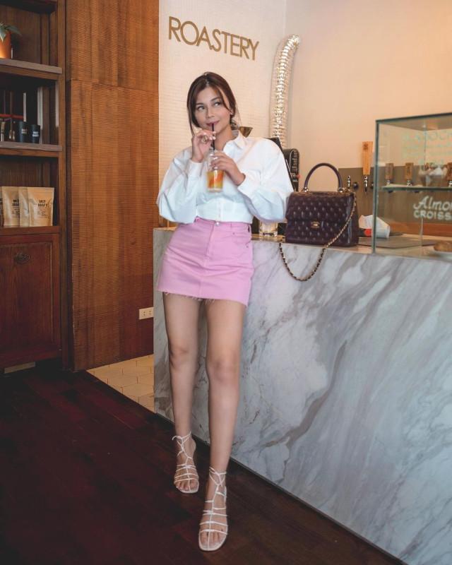 Pink Outfit Idea: Vern Enciso
