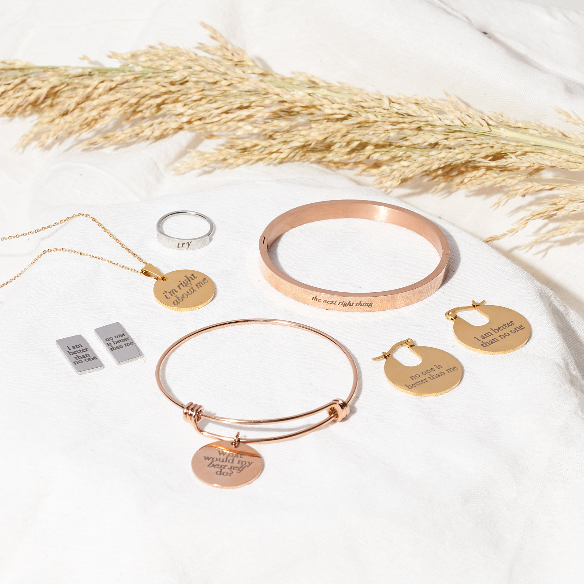 Ayn Bernos x Talaala PH jewelry set