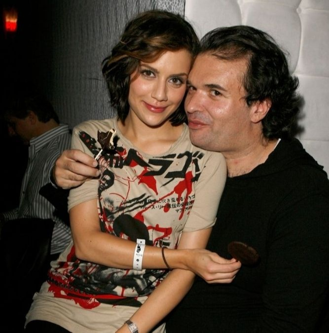 Brittany Murphy with her husband Simon Monjack