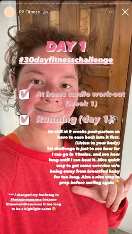 Andi Eigenmann's postnatal fitness challenge: phase one