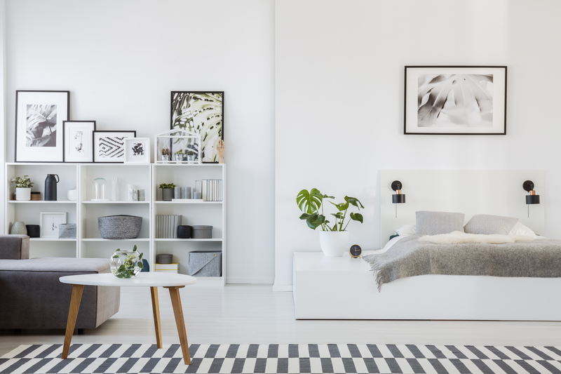 A redecorated loft bedroom