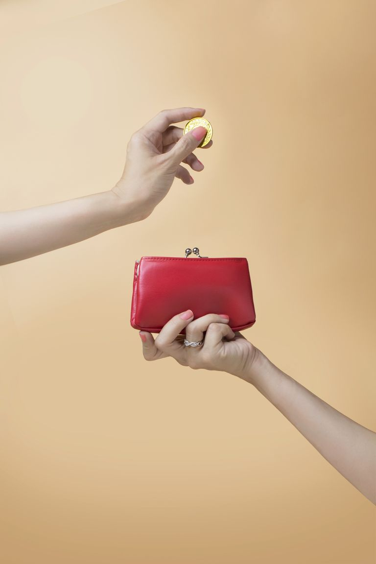 how to budget: coin purse savings