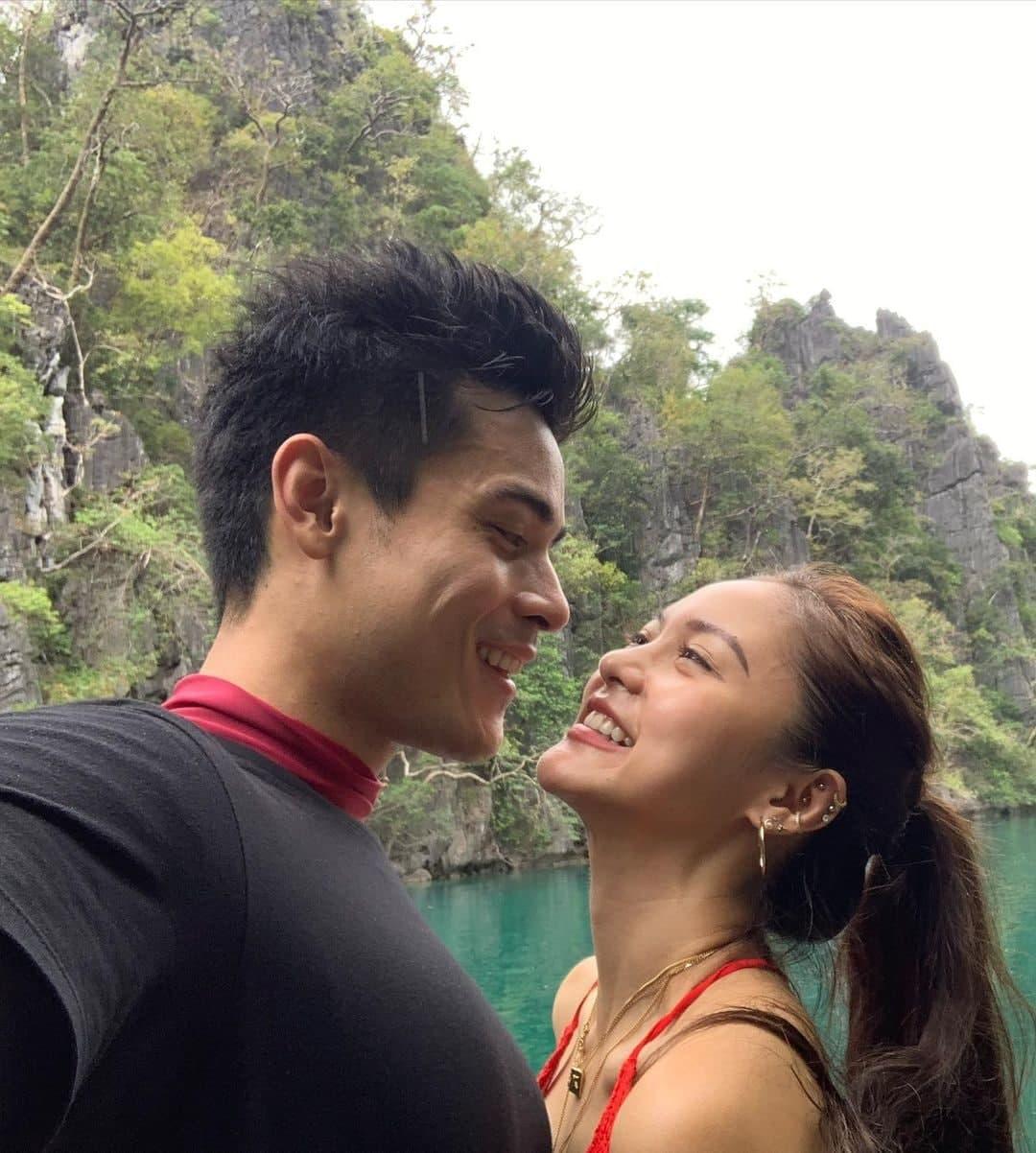 Kim Chiu and Xian Lim in Palawan