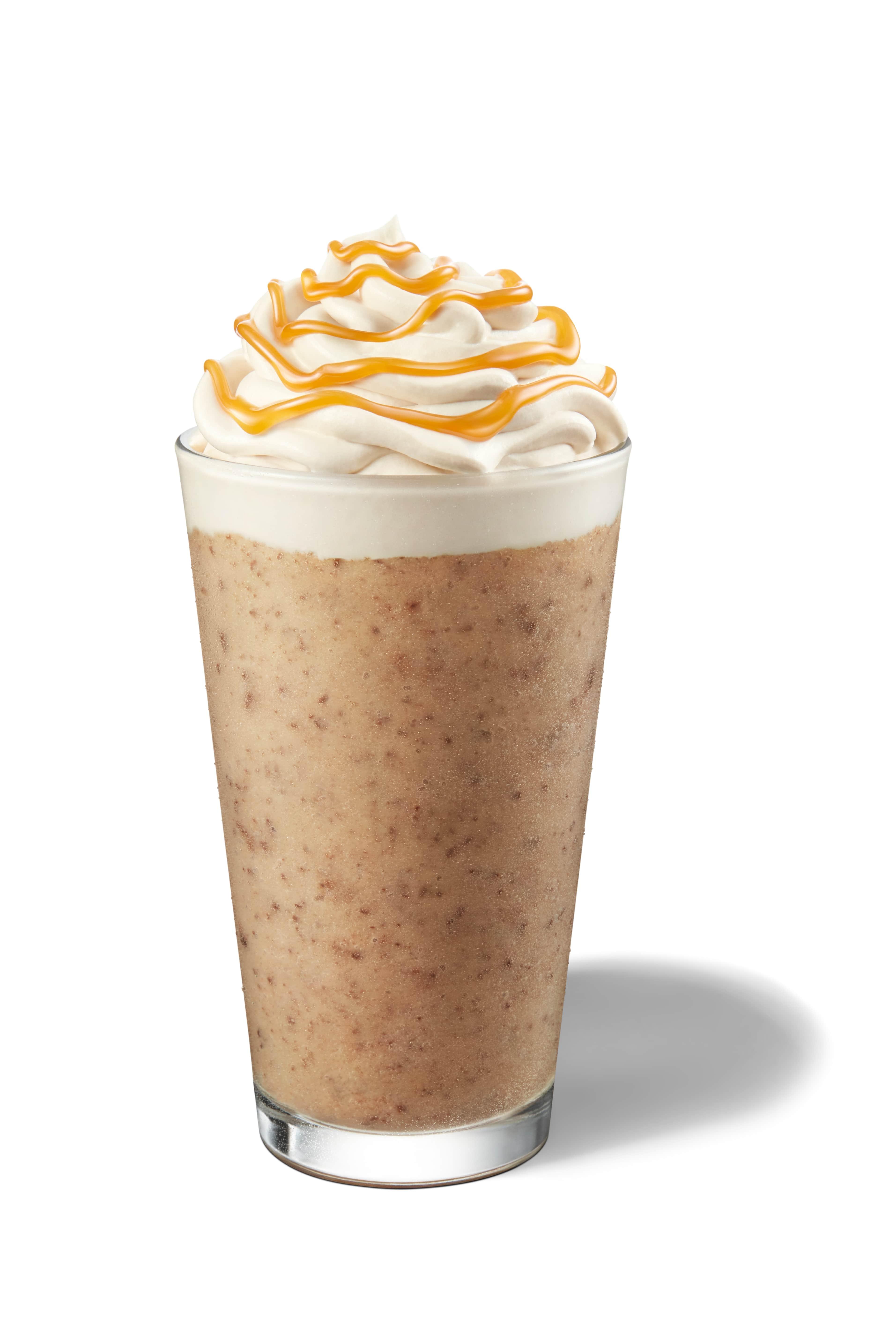 STARBUCKS: Cocoa Caramel Coffee Frappucinno