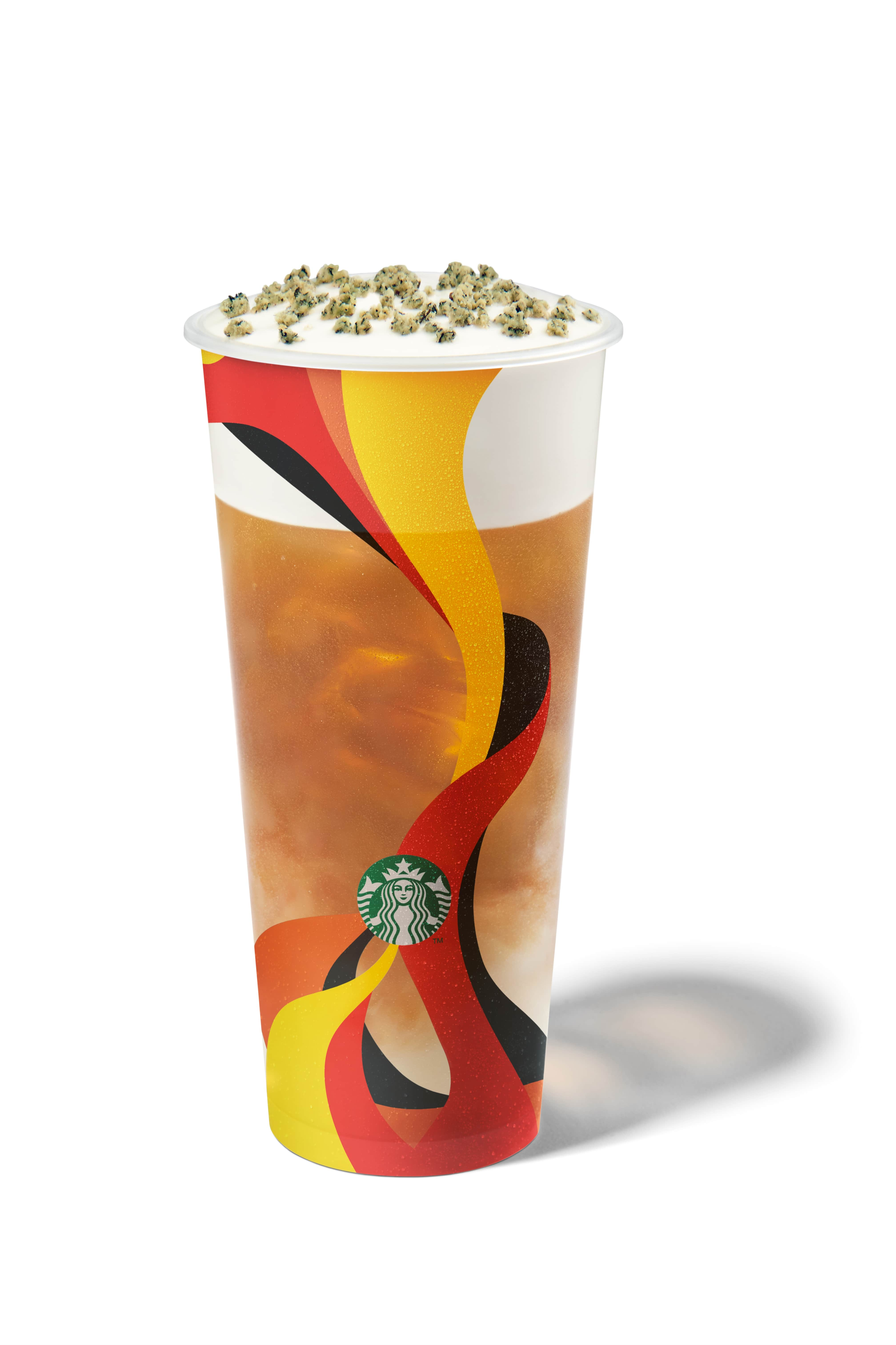 STARBUCKS: Triple Golden Monkey drink