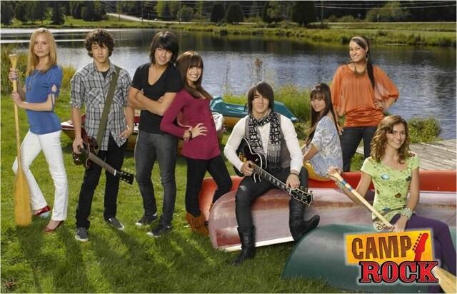 camp rock 2008 cast