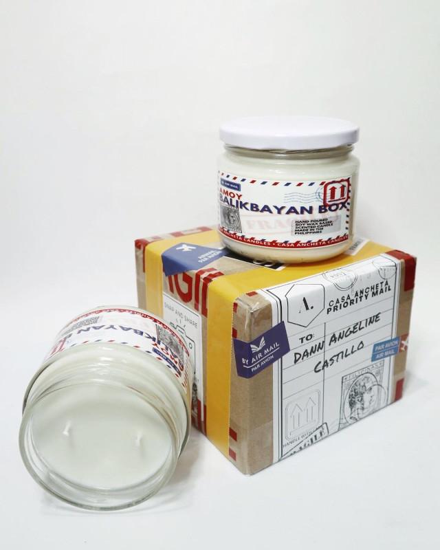 Casa Ancheta Amoy Balikbayan Box Scented Candle