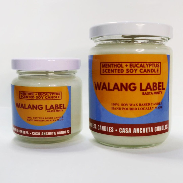 Casa Ancheta Walang Label Scented Candle
