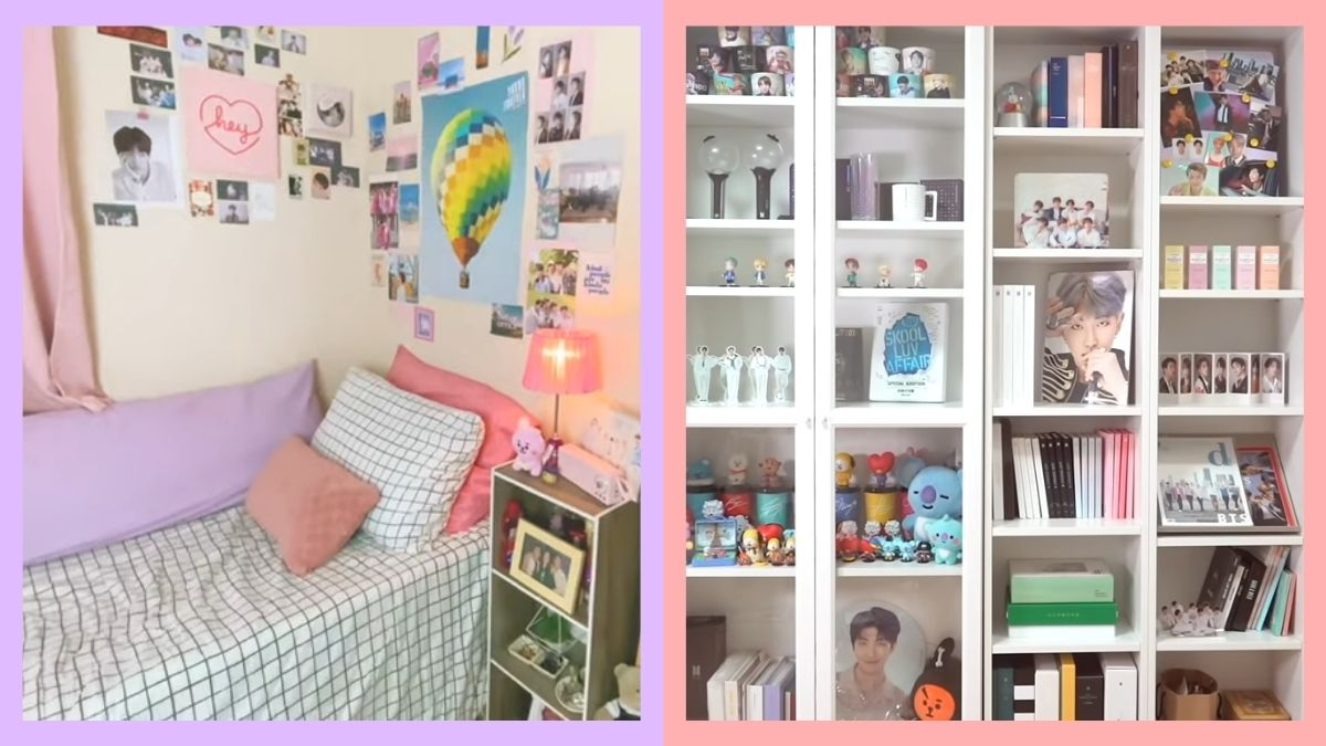 BTS-inspired room makeovers