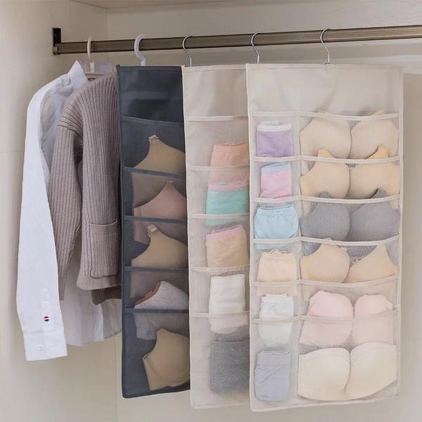 30 Pockets Cabinet Storage Organizer
