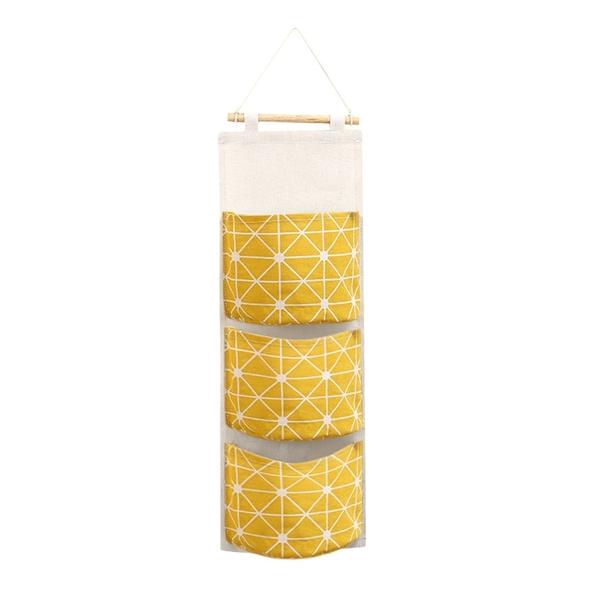 Waterproof 3-pocket Hanging Storage Bag