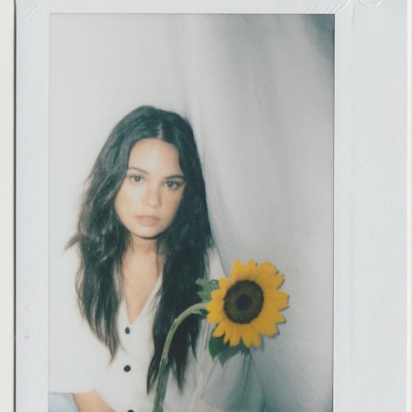 A polaroid of Leila Alcasid