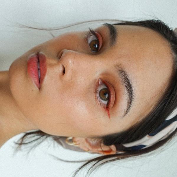 Leila Alcasid close-up selfie
