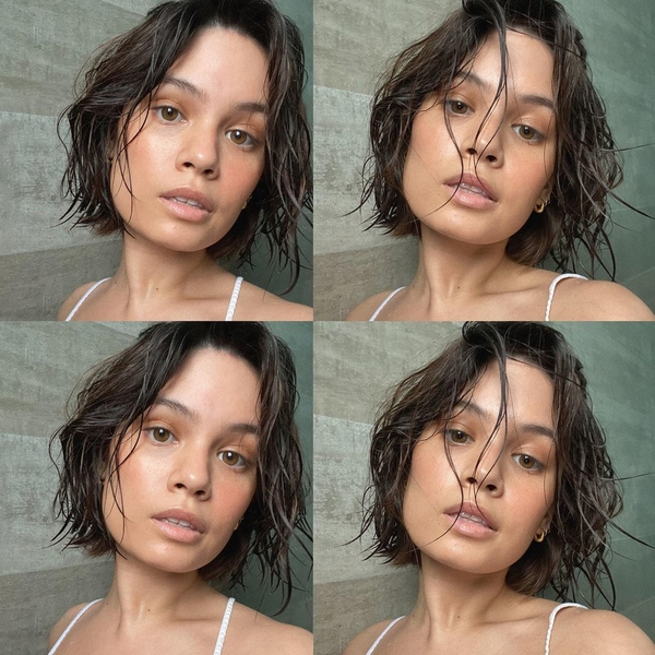 Leila Alcasid in a series of photobooth-styled picture
