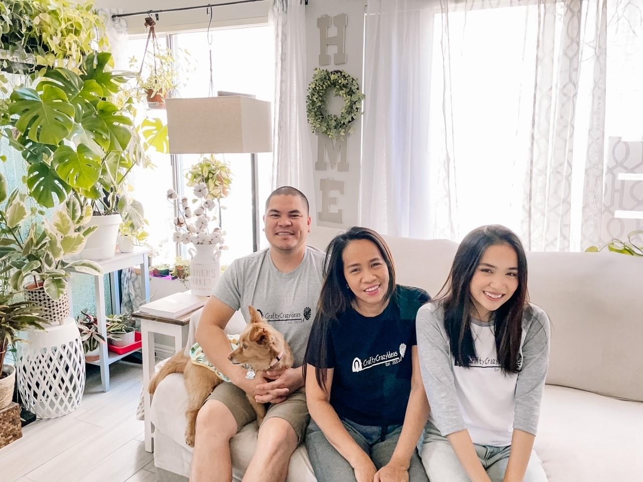 crafty crazy ideas - family photo 1