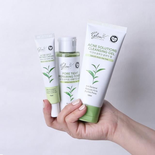 Hello Glow Acne Defense Set