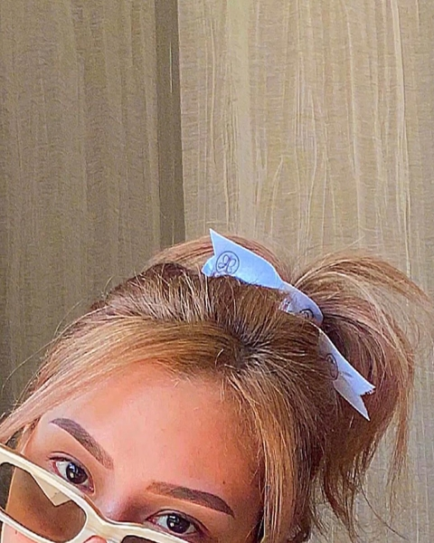 Extreme close up selfie of Keiko