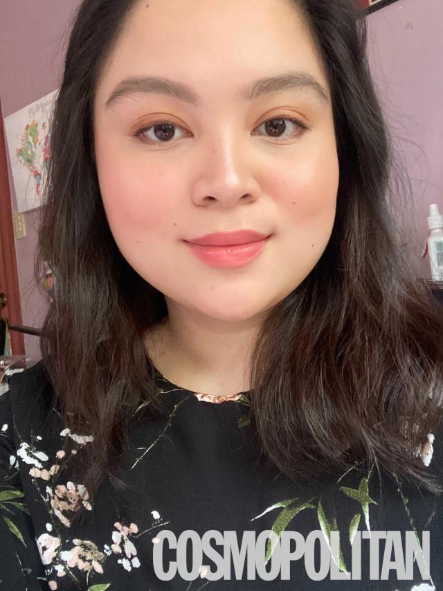 Skinimalism example: Minimal makeup look