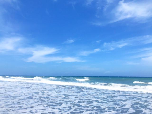 The beach at Zambales